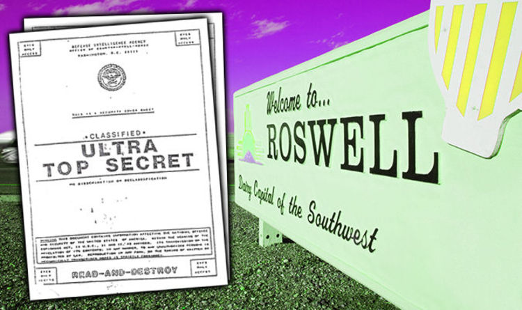 Roswell latest  alleged US leak confirms UFO crash dead