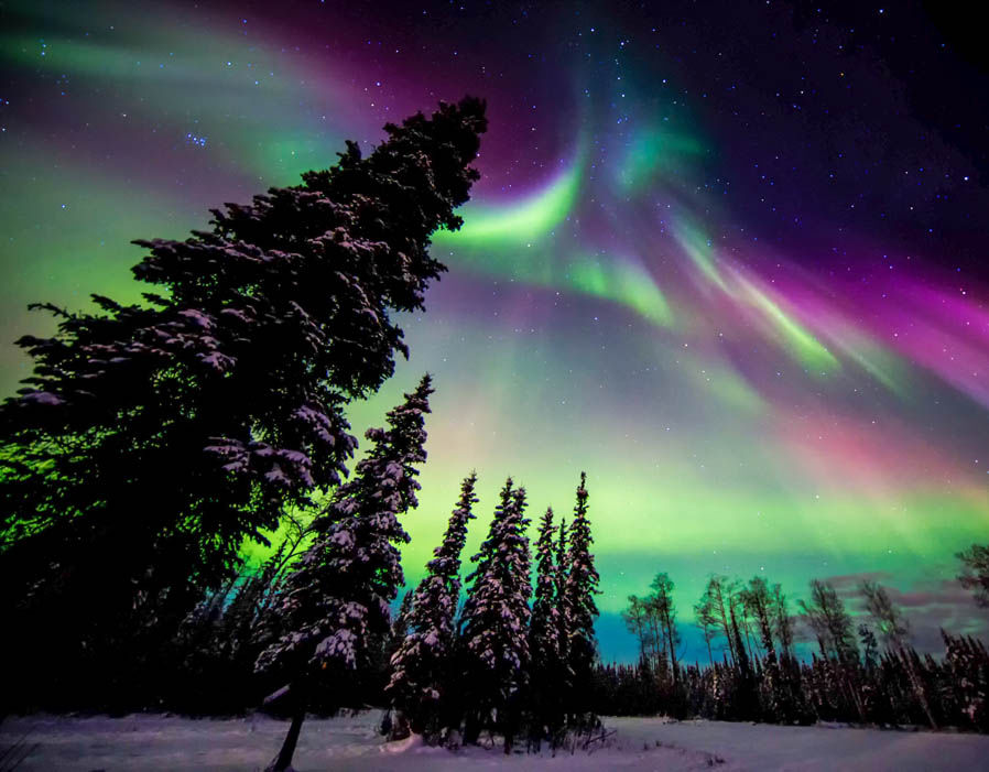 Image result for image of northern lights