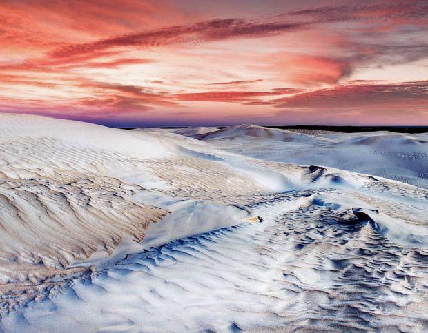 Australian sand dunes