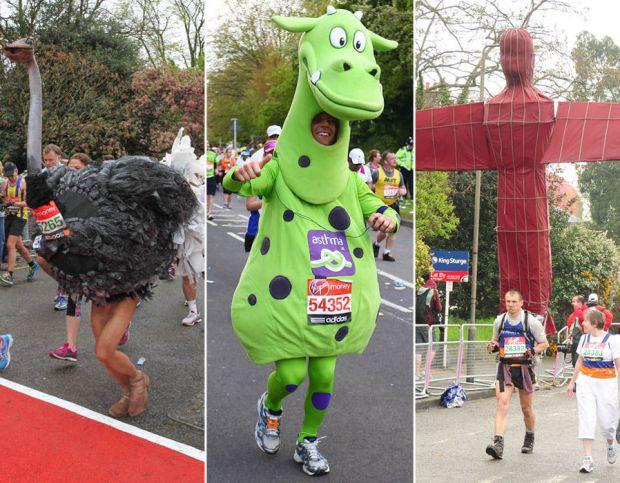 The best dressed Marathon runners