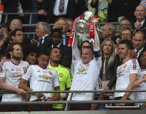 Manchester United FA Cup win