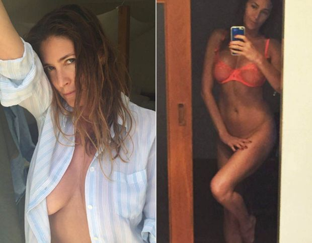 Lisa Snowdon shares a very sexy selfie from Ibiza