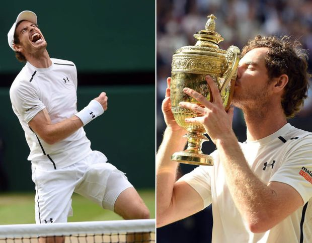 Andy Murray wins Wimbledon