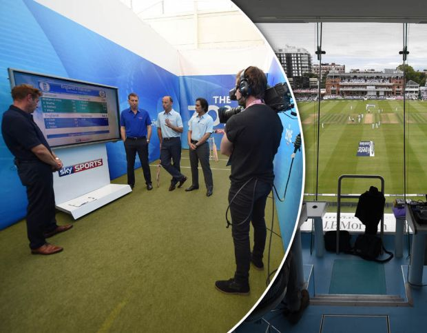 Sky Sports - Behind The Scenes At Lord's
