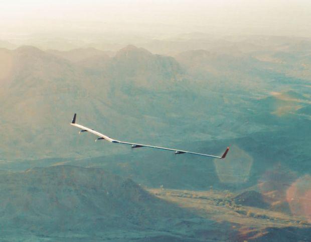 Facebook Aquila drone takes flight