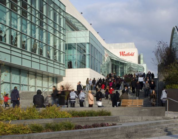 Westfield Shopping Centre, White City, Shepherds Bush, London