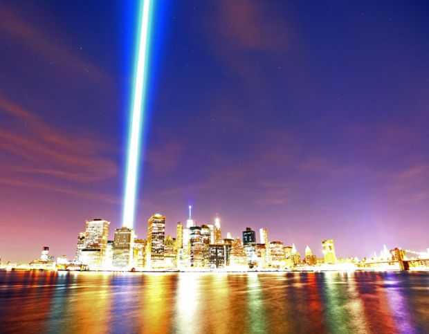 15th Anniversary Of 9/11 Attacks Commemorated At World Trade Center Memorial Site
