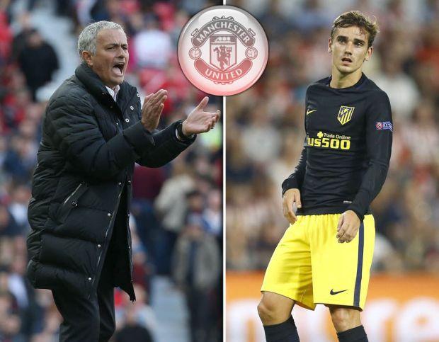Antoine Griezmann at Manchester United