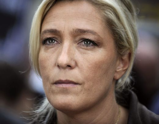 A French politician who is the president of the National Front (FN), a national-conservative political party in France and one of its main political forces.
