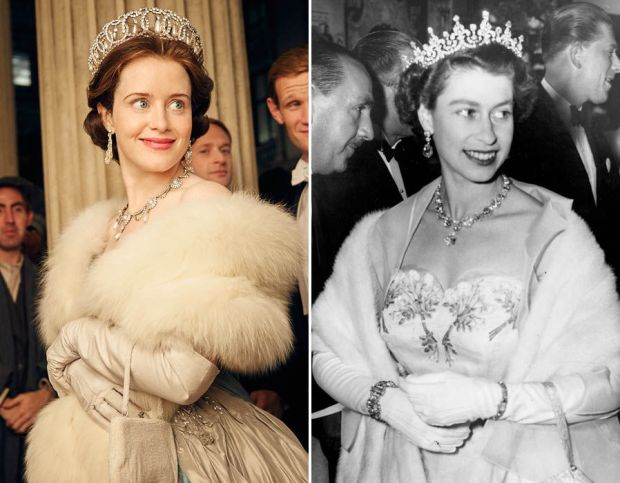 Claire Foy as Queen Elizabeth II