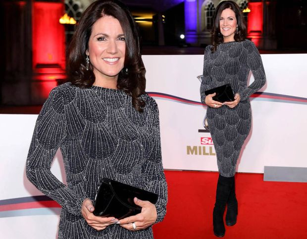 Susanna Reid showcases her incredible curves as she steals spotlight in tight glitzy dress