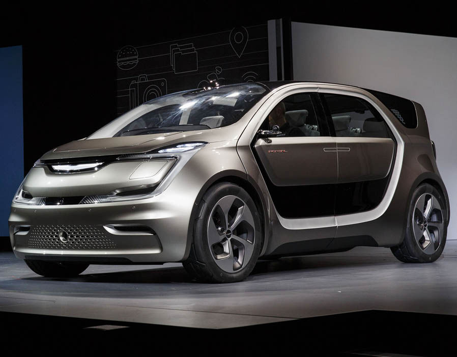 Fiat Chrysler Debut Concept Electric Minivan At Ces 2017