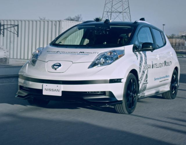 Nissan self-driving technology debuted at CES 2017