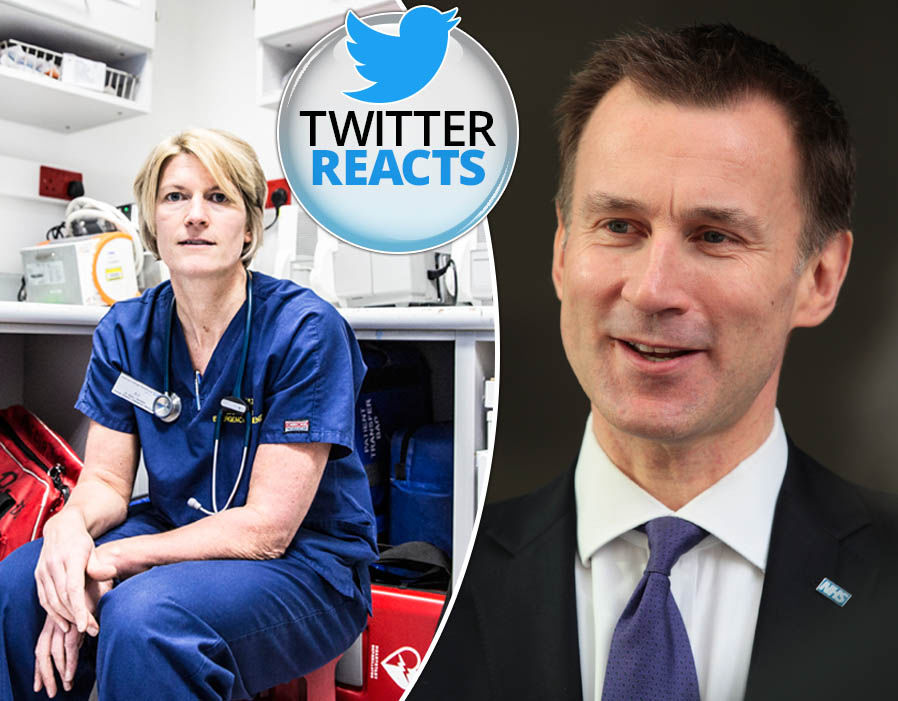 Hospital viewers slam Jeremy Hunt as cancer patient is denied surgery 'This is your fault'
