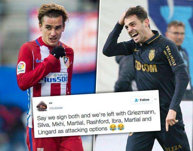 Antoine-Griezmann-Bernardo-Silva-Man-Utd-Twitter