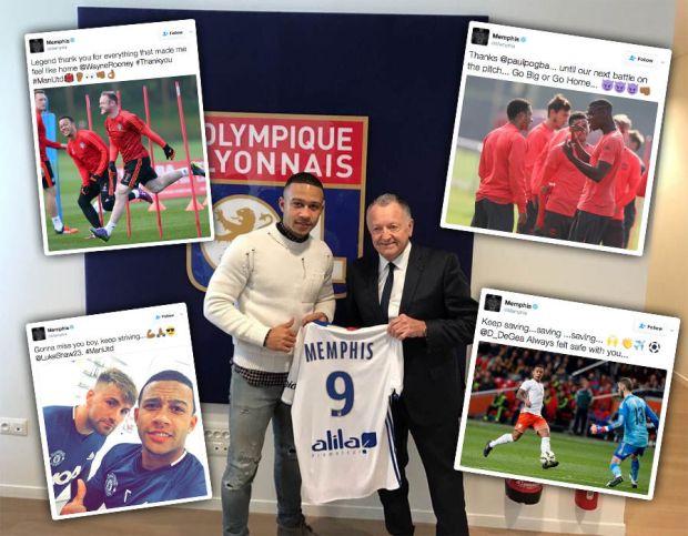 Memphis-Depay-Lyon-Manchester-United-Twitter