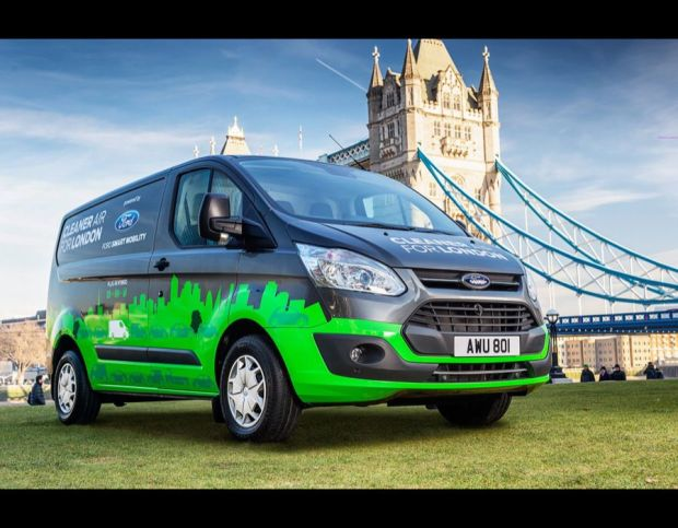 Ford Transit Custom Plug-in Hybrid Vehicles launch in London