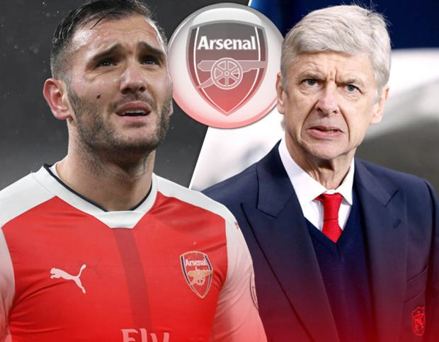 Lucas Arsene Wenger Arsenal
