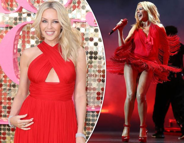 Kylie Minogue in pictures