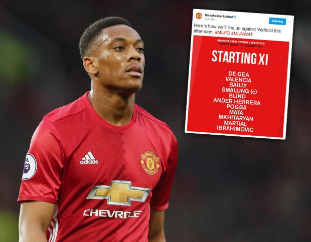 Manchester-United-Watford-Anthony-Martial-Twitter