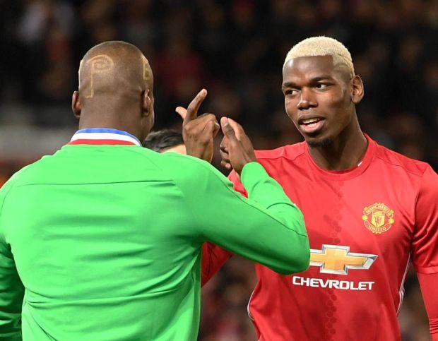 Paul Pogba Florentin Pogba Manchester United Saint-Etienne