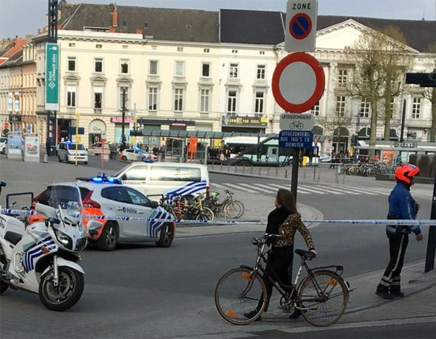 Bomb alert at Gent Zuid shopping centre in Belgium