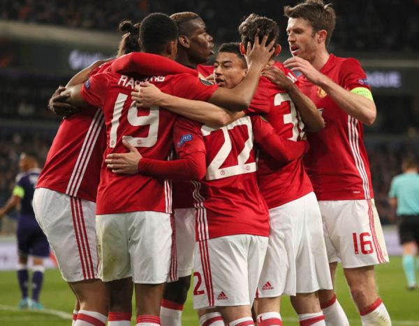 manchester united Manchester United player ratings against Anderlecht