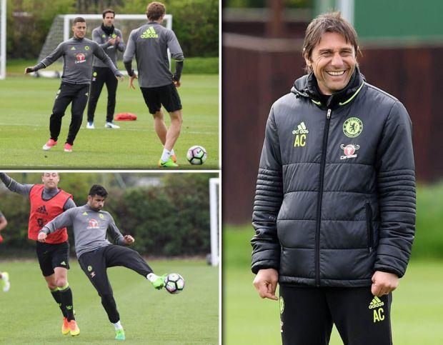 Chelsea-training-Manchester-United-Hazard-Costa
