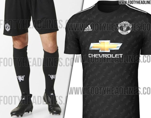 Man United leaked kit