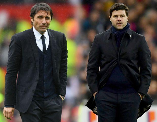 Conte and Pochettino