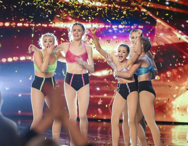 Dance act Just Us get the golden buzzer