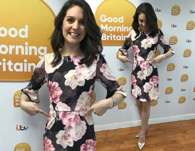 Laura Tobin announced her pregnancy live on Good Morning Britain