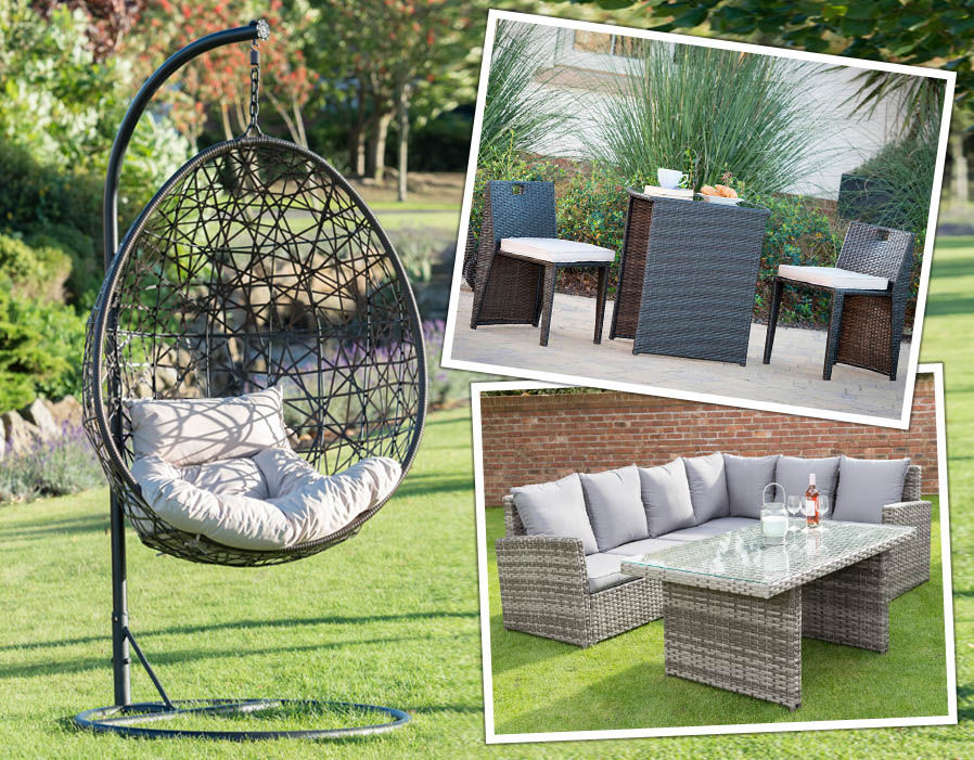 Save and Splurge on garden furntiture  Pictures  Pics