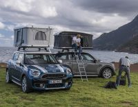 Mini Countryman 2,400 roof tent is now for sale in the UK ...