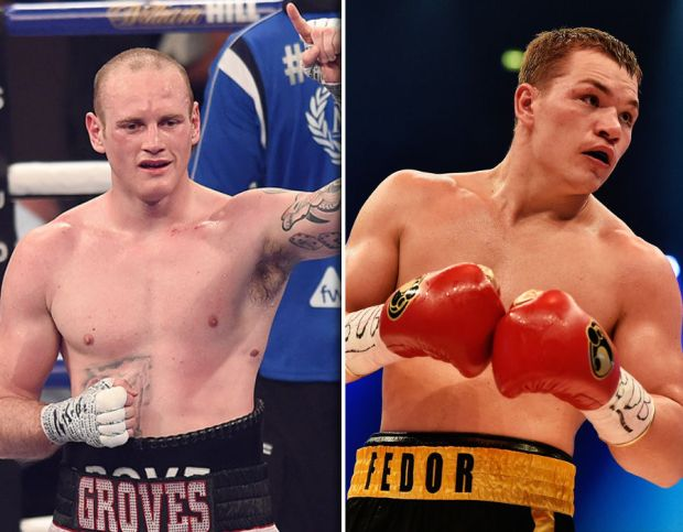 George Groves v Fedor Chudinov
