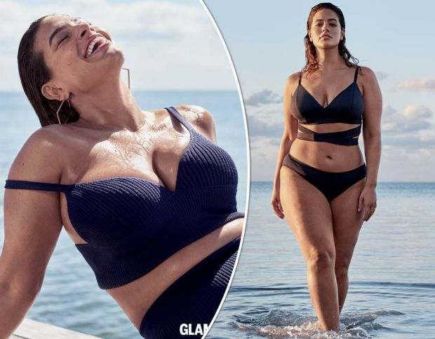 a1521de6864 Ashley Graham flaunts eye-popping curves as she flashes major ...