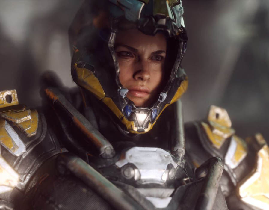 Anthem Game Pictures From BioWares New Title Showcased