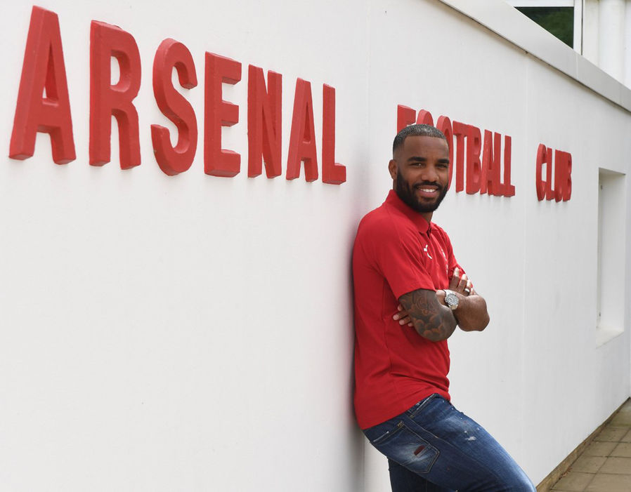Image result for lacazette joins arsenal