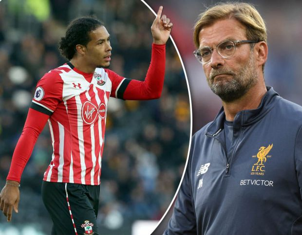 Liverpool starting XI Virgil van Dijk transfer