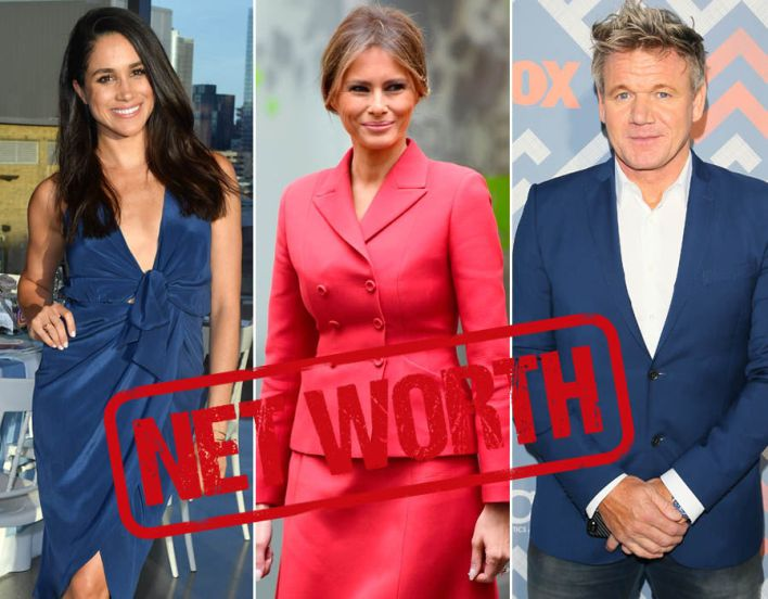 Rich list: Celebrities with the highest net worth