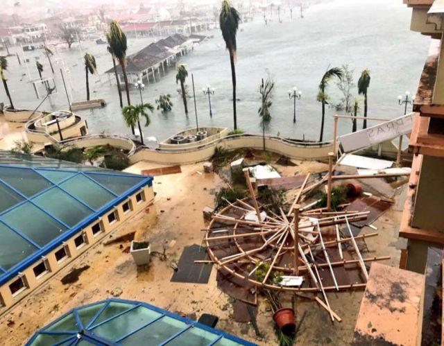 Irma hits Saint Martin