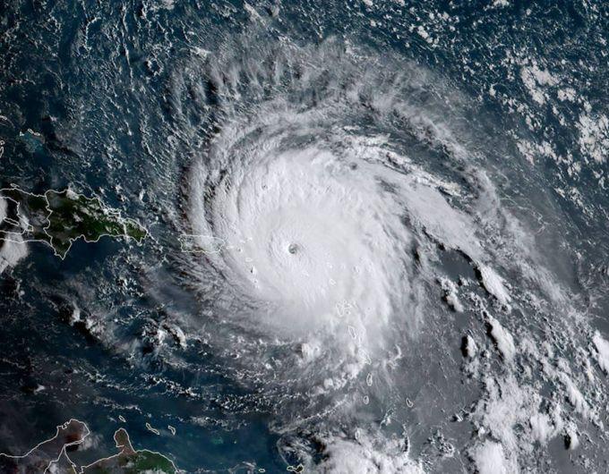 Hurricane Irma at 1130 UTC on September 6, 2017