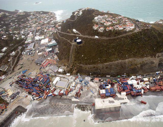 Sint Maarten after Hurricane Irma