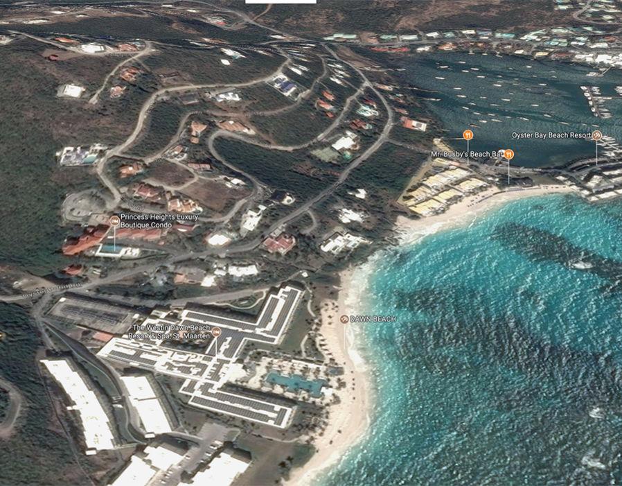 Westin Dawn beach resort before Hurricane Irma