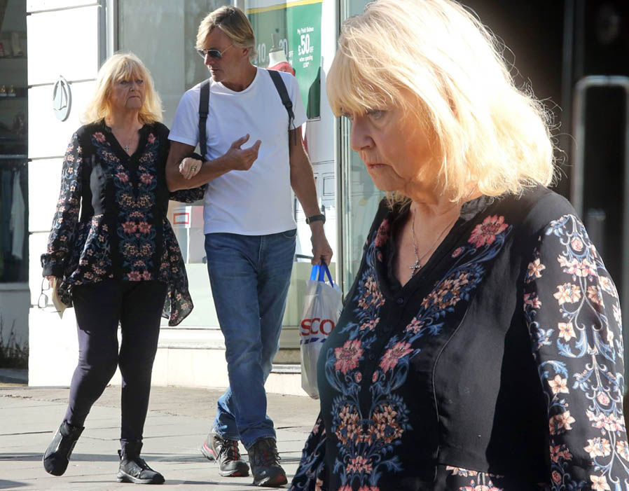 Judy Finnigan shows off noticeably slimmer figure