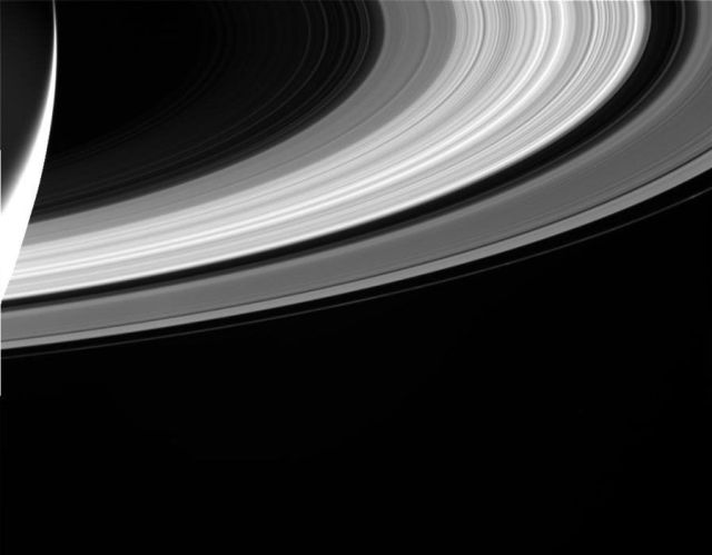 Saturn system was taken by NASA's Cassini spacecraft on Sept 13th