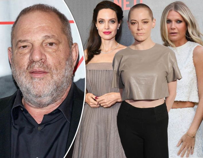Who are the actresses accusing Harvey Weinstein?
