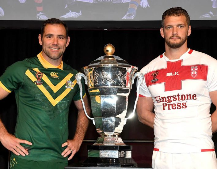 Rugby League World Cup betting odds