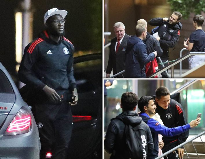 Manchester United Lowry Hotel arrive Benfica