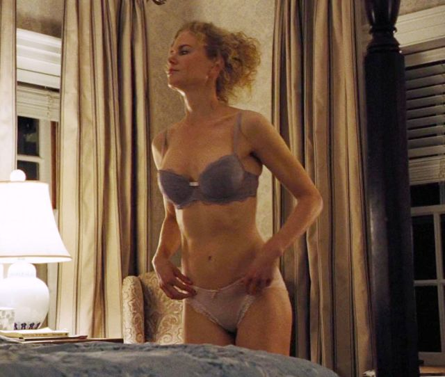 Nicole Kidman Oozes Confidence In Her Lace Underwear In The Sex Scenes